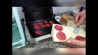 Sucuklu/Kaşarlı Tost Nasıl Yapılır? (Trabzon ekmeğiyle)