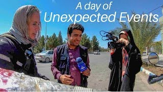 [Eps. 56] A DAY OF UNEXPECTED EVENTS - Royal Enfield Himalayan BS4 (2018) - Yazd, Iran