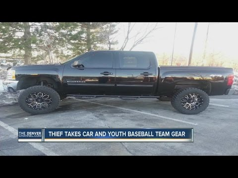 Youth baseball coach's truck stolen with team's gear inside