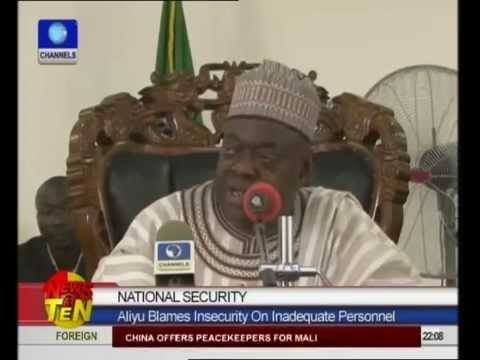 Aliyu blames inadequate manpower for crisis