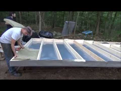 Laying Floor Insulation In My Tiny House On Wheels