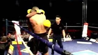 SAVATE fighters in Muay thai and K1
