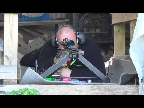 First Test With The JAS F-Class Bipod At 500 Meters
