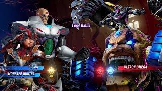 Marvel vs Capcom Infinite - Sigma/Monster Hunter Arcade Mode
