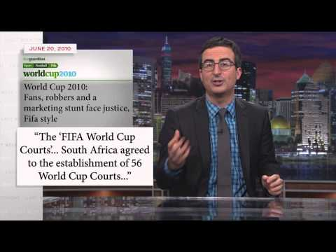 Last Week Tonight With John Oliver: Fifa And The World Cup (hbo) video