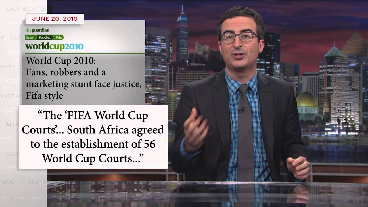 John Oliver Fifa Quote With John Oliver Fifa And