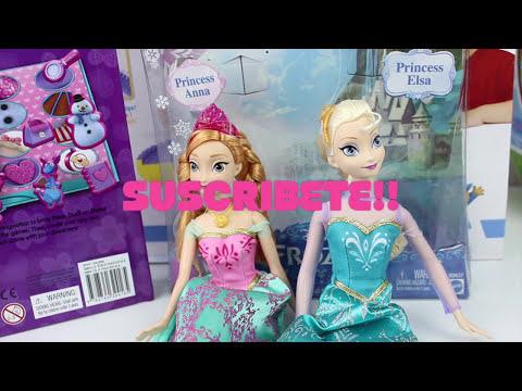 Muñecas Frozen  Hermanas Anna y Elsa- Royal Sisters Juguetes Para Niñas |Mundo de jugutes