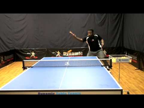 Backhand Loop Training for Table Tennis DVD - Out Now