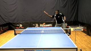 Backhand Loop Training for Table Tennis Part 1 DVD - Out Now