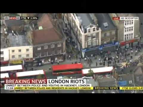 London's (Tottenham Riot 2011): Mark Duggan and Riot