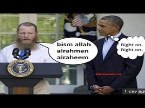"Bob Bergdahl's ""Muslim Victory Call"" at White House Rose Garden"
