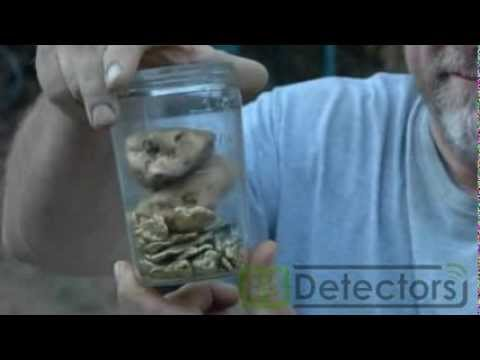 Huge Gold Nuggets Found Metal Detecting