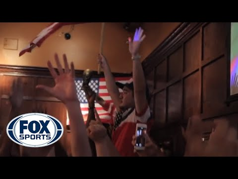 American Outlaws Celebrate John Brooks' Game-Winning Goal vs Ghana - @TheBuzzeronFOX