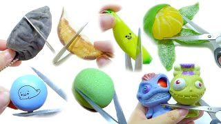 Squeeze & Cut Open Squishy Squeeze Toy Compilation   ASMR