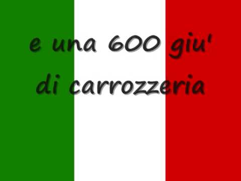 L'italiano ( l asciatemi cantare  ) Toto Cotugno - lyrics streaming vf