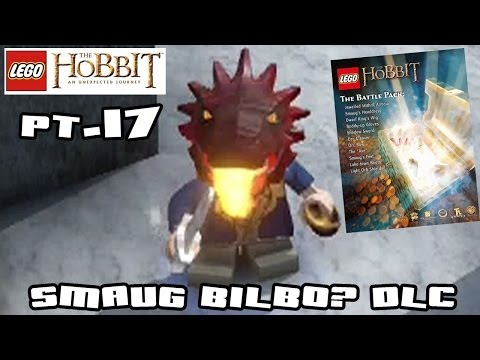 Lets Play Lego Hobbit: Bilbo Smaug? Battle Pack DLC - On the Doorsteps (Walkthrough Part 16)