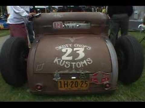 Skoty Chops' Hot Rod Video