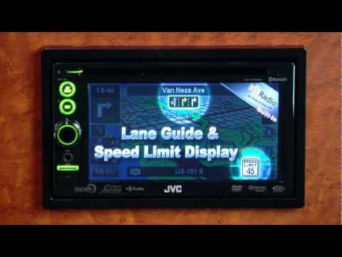 JVC KW-NT50HDT Multimedia Navigation Receiver