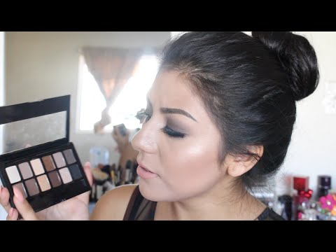 Maybelline The Nudes Palette Review & Demo! |Smokey Eyes For Beginners