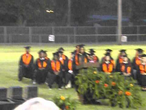 Kajah Coleman (Salutatorian ) at Calhoun City High School Class of 2014