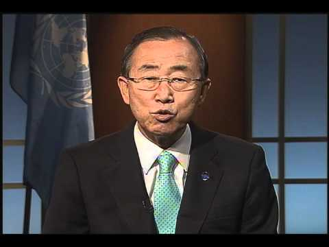 Libya Election, UN Secretary-General Ban Ki-moon message (Arabic)