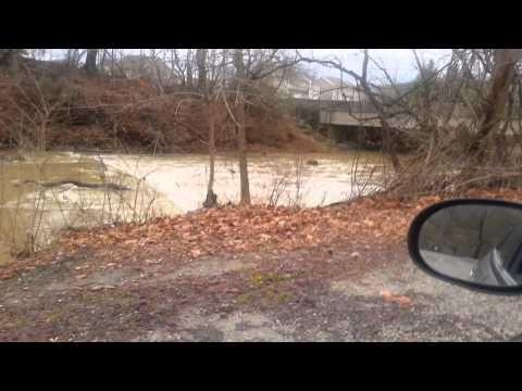 Canonsburg Lake Dam After Canonsburg Lake Dam