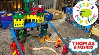 THOMAS TRAIN SUPER STATION! Thomas and Friends with Trackmaster   Fun Toy Trains for Kids!