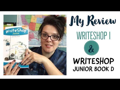 WriteShop I + WriteShop Junior Book D Review