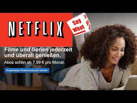 NETFLIX nun auch in Deutschland - Taugt es was?