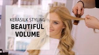 Create weightless movement in long hair | Kerasilk Hairstyles Series | Goldwell Education Plus