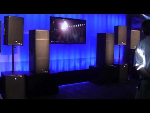 ELECTRO-VOICE ELX POWERED SPEAKER DEMO AT NAMM 2011 WITH I DJ NOW
