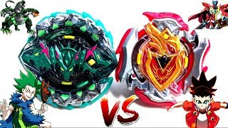 ANIME: Hazard Kerbeus .7.At vs Z Achilles .11.Xt -Kyle vs Aiga-Beyblade Burst Super Z Battle?