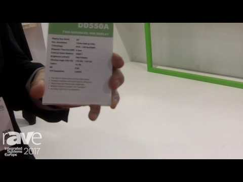 ISE 2017: Acer Talks About DD550A Dual Side Screen Display