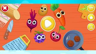 Game Masak Masakan Anak Kecil - Permainan Masak Menyenangkan - Masak Sayur Masak Buah