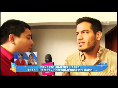 Ernesto Jiménez: Quiero hablar con Pavón para explicarle ampay
