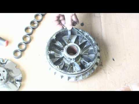 UTV Inc Yamaha Rhino 700 Machined Sheave & Clutch Kit Install Video