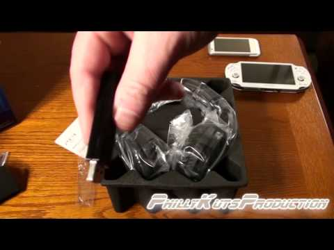 PS3 Pulse Elite Edition Wireless 7.1 Stereo Headset Unboxing