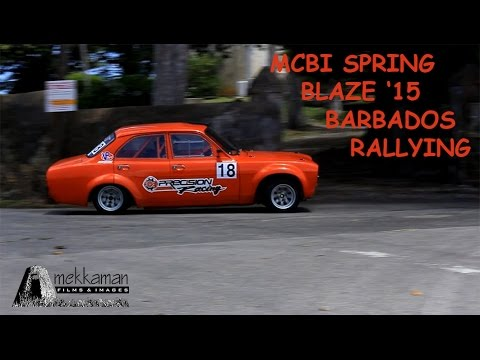 MCBI Spring Blaze 2015 - Rally in Barbados
