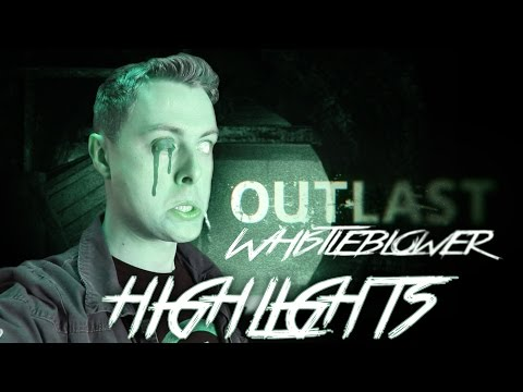 I SMELL OF FEAR! - Highlights & Fails: Outlast DLC