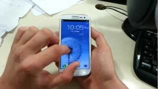 Samsung Galaxy S 3 Review in Russian