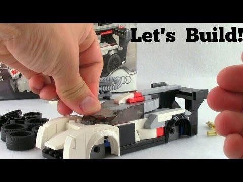 LEGO Audi R18 e-tron quattro 75872 Let's Build!