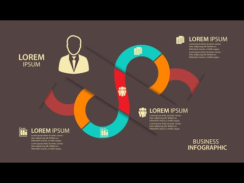 Infographic tutorial illustrator logo png