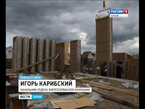 Алтайские строители проверили тепловизором дом из соломы и были удивлены результатам