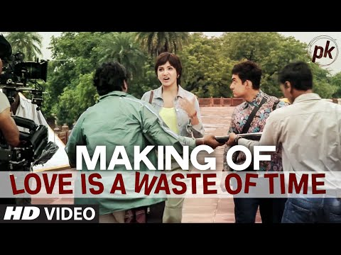 Making Of 'love Is A Waste Of Time' Video Song | Pk | Aamir Khan | Anushka Sharma | T-series video