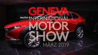 Autosalon Genf 2019 - Mazda - CX-30 - Skyactive X