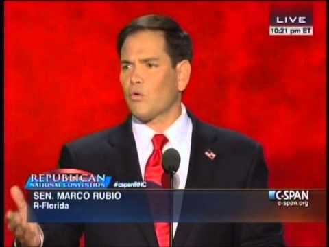 Senator Marco Rubio's Full RNC Speech 8/30/12