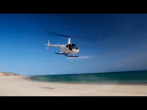 Helicopter Fishing from Eco Beach Resort Broome