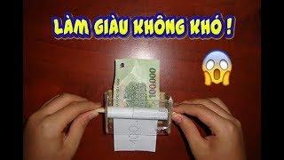 Cách làm một chiếc máy in tiền rất đơn giản. How to make a money printer !!!