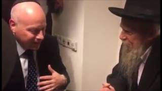 Trump Advisor Jason Greenblatt Gets Bracha From Rav Gershon Edelstein