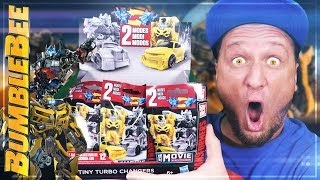 BumbleBEE! Transfomers Display Tiny Turbo Changers Serie 3 Unboxing